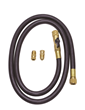 Fast-Flo® Black Hose With Refrigerant Tank Adaptors