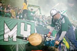 The Portland Timbers Celebrate