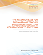 Learning Sciences International: Recent Research Validates the Marzano Teacher Evaluation Model to State VAM