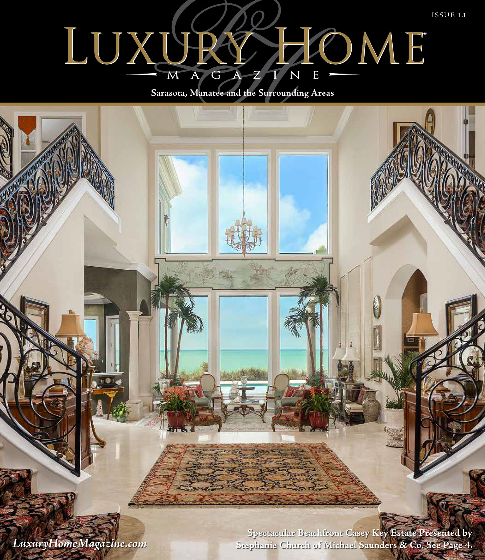 Home Magazine: Luxury Home Magazine® Launches New Publication In Sarasota
