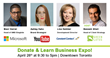 Donate & Learn Business Expo Keynote Speakers
