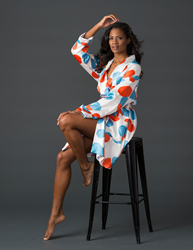 SoffiaB Poppy Perfection Shortie Luxury Robes