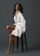 SoffiaB Indigo Moonlight Shortie Luxury Robes