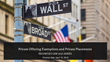 """Financial Poise™ Announces a Webinar on """"Private Offering Exemptions and Private Placements,"""" Premiering April 15th, 2pm CST Through Thomson Reuters/West LegalEdcenter"""