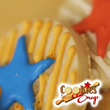 Sugar cookies made easy, with Cookies in a Snap!