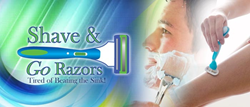 Shave & Go Razors is a grooming invention that makes cleaning razors less tedious thereby extending the sharpness and lifespan of the device.