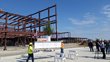 Robins & Morton Celebrates Topping out at Choctaw Nation Regional Medical Clinic