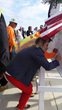 guests sign the beam