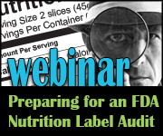 FDA Label Audit Webinar