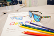 "100% of the proceeds from the sale of the ""After the Storm"" sunglasses will benefit local elementary art education."