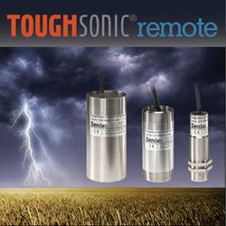 remote ultrasonic liquid level sensors