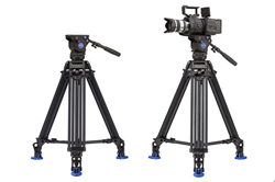 Benro BV4 Pro and BV6 Pro Video Tripods