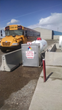 The Grace School District has an onsite propane autogas fuel station with 500-gallon capacity.