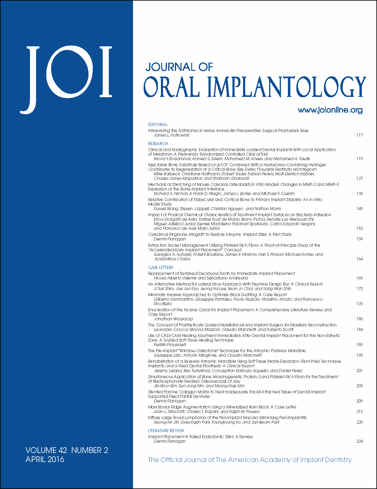 Can oral implantology implant dentistry
