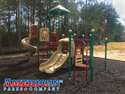Goodtimes Playground Bundle for Nacogdoches Housing Authority - American Parks Company