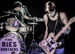 The Ries Brothers, a young Alternative Pop and Rock duo from Clearwater, FL