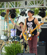 The Ries Brothers at 2016 Gasparilla Music Festival.  Tampa, FL