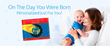 """I See Me! Personalizes the Best-Seller Baby Book """"On the Day You Were Born"""""""
