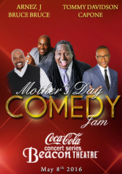 Give the gift of laughter! The Mother's Day Comedy Jam makes a unique Mother's Day present.