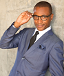 "Comedian Tommy Davidson one of the original stars of the TV hit ""In Living Color."""