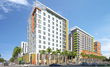 The former U.S. Immigration Naturalization Service (INS) 12-story building in Miami will be redesigned by the architecture and design firm Stantec and converted to a 139-key Hilton Garden Inn