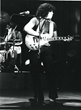 Ed with the original Rick Nielsen Les Paul Standard from 1959, On stage with Snowaxe in 1977