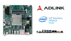 ADLINK's Thin Design Mini-ITX Embedded Board