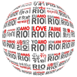 I LOVE RIO GLOBAL LOGO