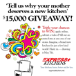 Express Kitchens Giving Away A $15,000 Complete Kitchen For Mother's Day