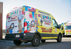 My Plumber Heating and Cooling Supports Autism Awareness with New Trucks