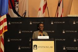 Elizabeth Gitari of the High Court of Kenya spoke at Stetson law school.