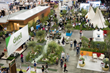 Aerial view of Dwell Outdoor at Dwell on Design 2015