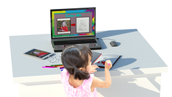 Color Me is an application invention which will provide unique and meaningful coloring books for children and children at heart.