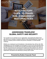 Ovation Corporate Travel Risk Management Best Practices