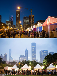 NFL Draft and Chicago Food & Wine Show