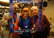 Three MIA volunteers are awarded the President's Lifetime Achievement Award