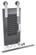 Goldberg Brothers Shutter Series barn door hardware kit