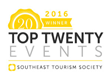 Southeast Tourism Society Selects Sandy Lee Watkins Songwriter's Festival as a 'STS Top 20 Event'