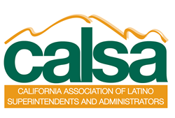 Yellow and green CALSA logo