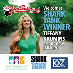 Tiffany Krumins, one of the biggest shark tank success stories joins SeatSational as a Partner. http://seatsational.com