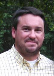Eddie Ott, new farm manager for NG Turf at their Calhoun turfgrass farm