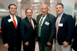 State Assemblyman David Buchwald, Joel Seligman, President & CEO, NWH, Mt. Kisco Mayor Michael Cindrich and Senator Terrence Murphy