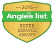 McLay Services, Inc. Earns Esteemed 2015 Angie's List Super Service Award