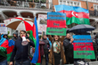 TEAS Observes Demonstration Outside Azerbaijani Embassy in London