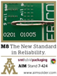 AIM to Highlight Revolutionary M8 Solder Paste at SMT Hybrid Packaging 2016