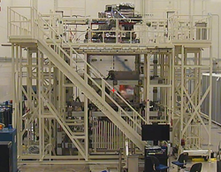 Spika work platform used to manufacture GOES-R satellite