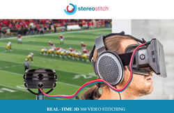 StereoStitch Software Enables Live VR Streaming