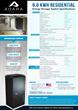 Adara Energy Storage System Datasheet