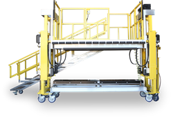 Spika work platform with dual-stage actuation