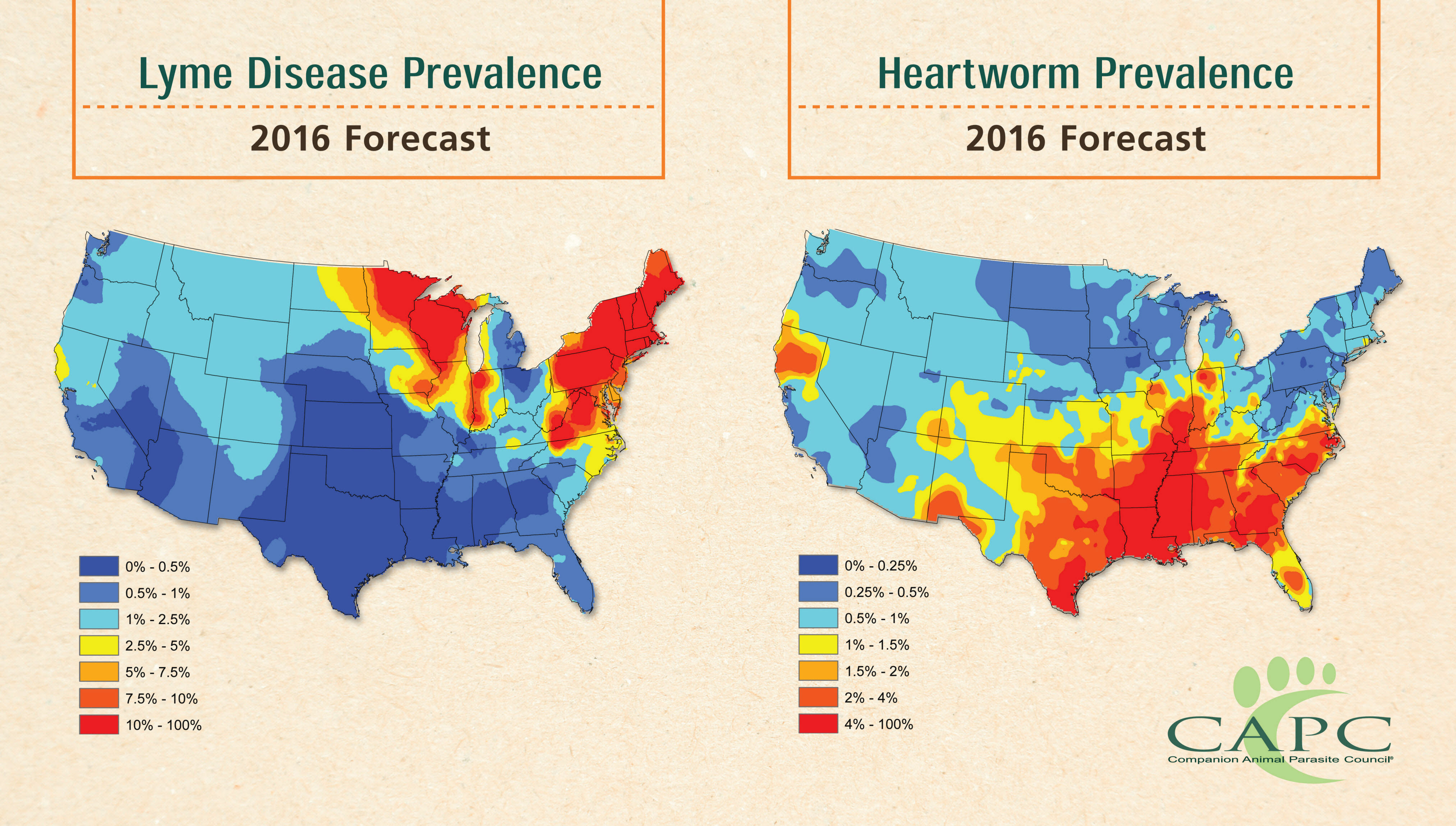Climate Change Too Abstract For You Dengue Fever Could Spread To - Map of ticks in us